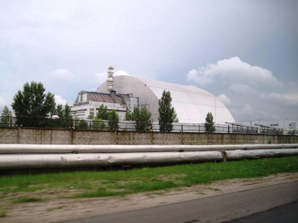 Černobil, reaktor